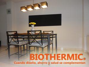 radiador infrarrojos biothermic negro 061