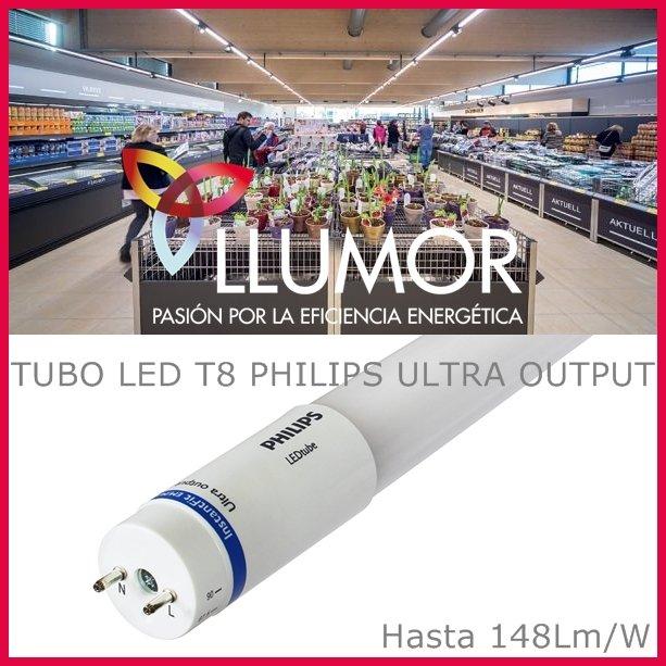 Más tubos LED de alta luminosidad