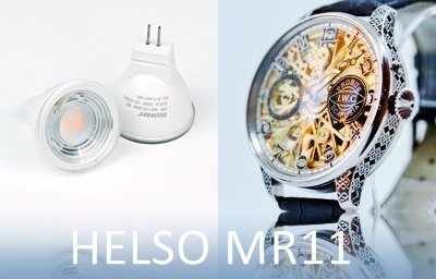 LED HELSO MR11 Joiera y vitrinas