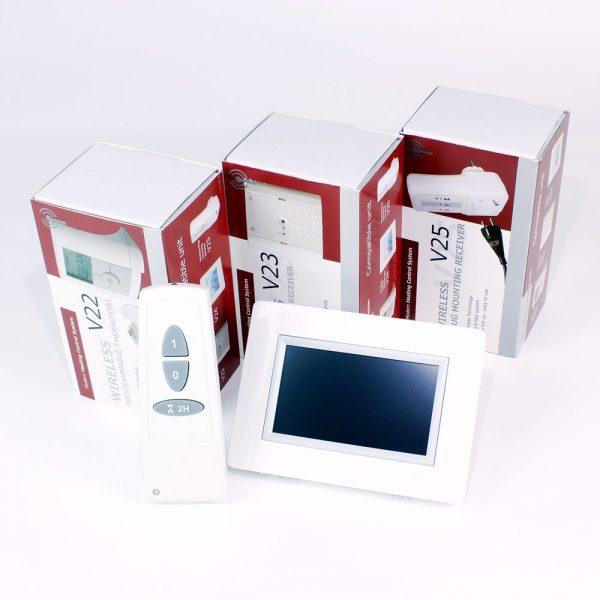 Centralita WiFi sistema regulación inalámbrica WATTS V24 2