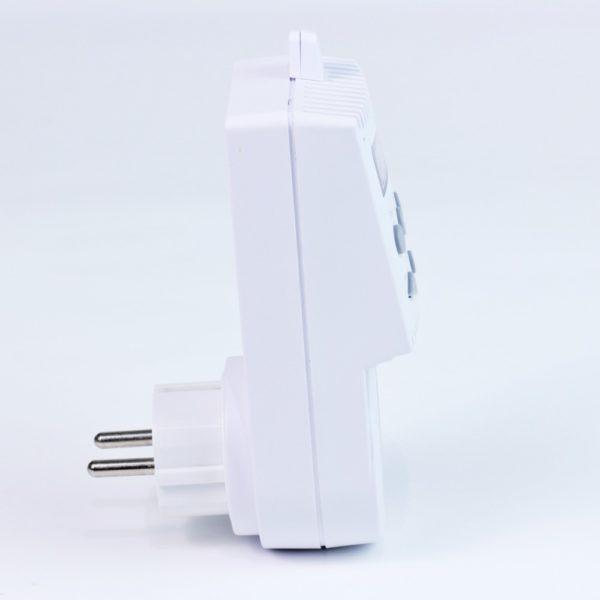 Enchufe termostato TS10 vista lateral