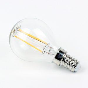 Bombilla esfera LED FILAMENTO E14 | Philips 4W