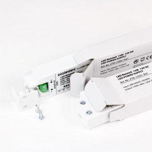 Transformador LED integración 12V DC | 15W | 20W | 100W | 180W