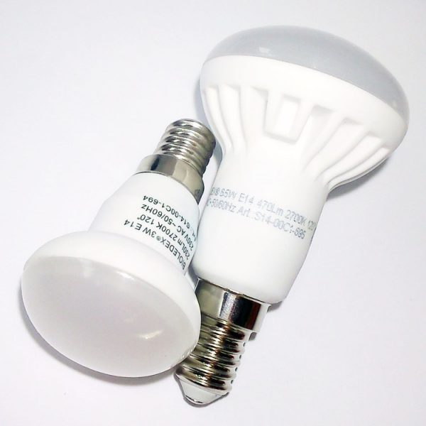 Reflector LED E14 | 3W R39 | 6W R50 | SPOT