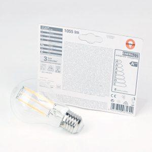 Bombilla LED FILAMENTO E27 | OSRAM 8W