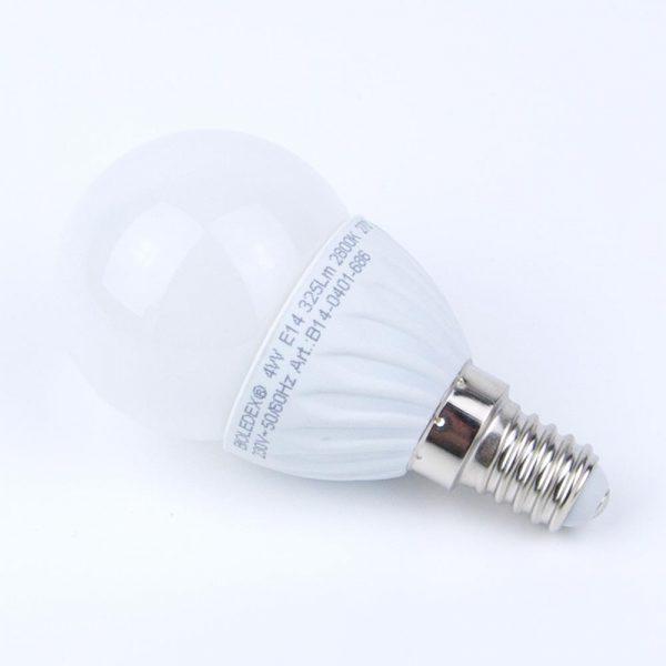 Bombilla esfera LED TEMA E14 | 3W | 4W