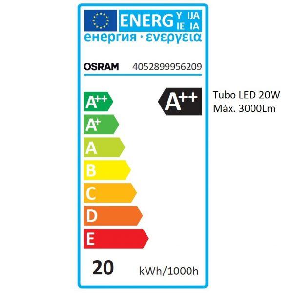 Tubo LED T8 OSRAM SUBSTITUBE ADV.