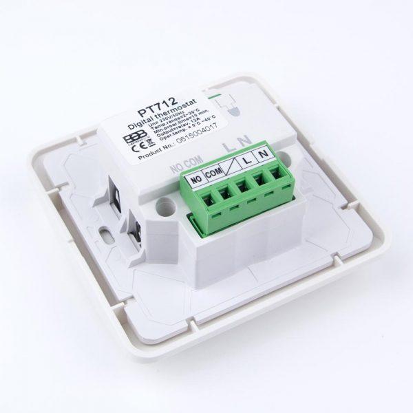 Termostato PT712 calefacción eléctrica y suelo radiante