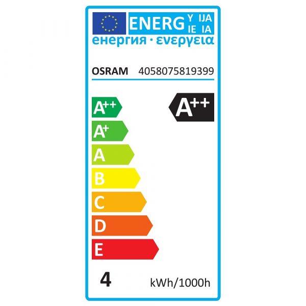 Esfera LED E14 opaca | 3x OSRAM 4W