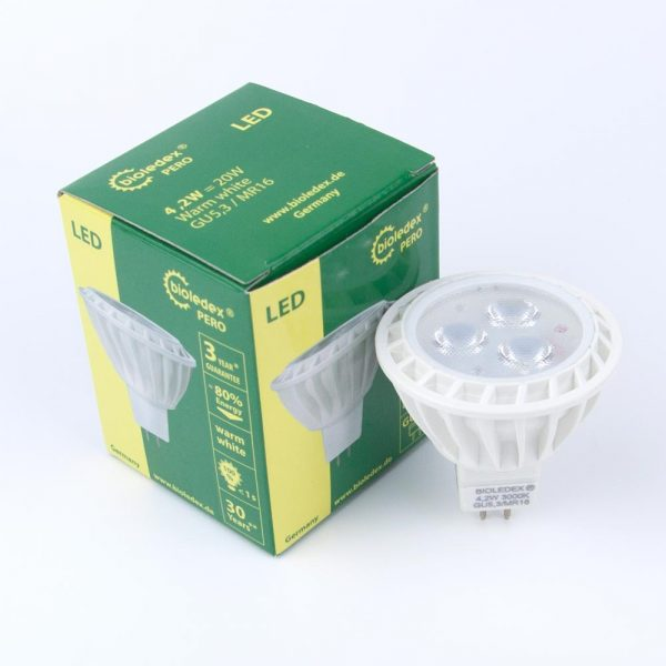 Dicroica LED MR16 PERO | 4,2W | 5,2W