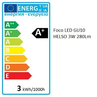 Dicroica LED GU10 CRISTAL   3W   COB