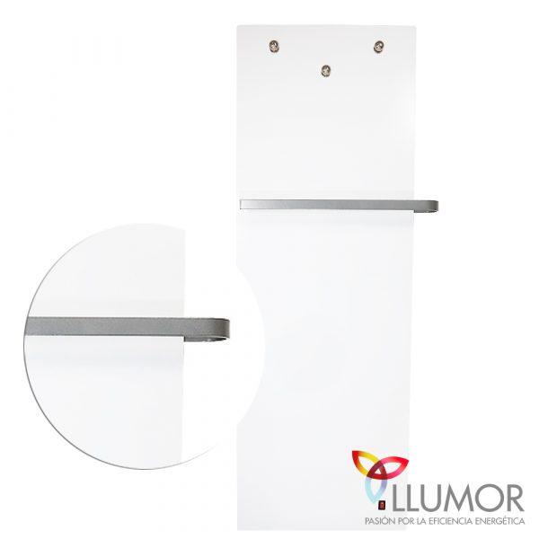 Radiador secatoallas eléctrico TOUCH4MORE