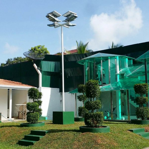Farola solar LED TRASNO