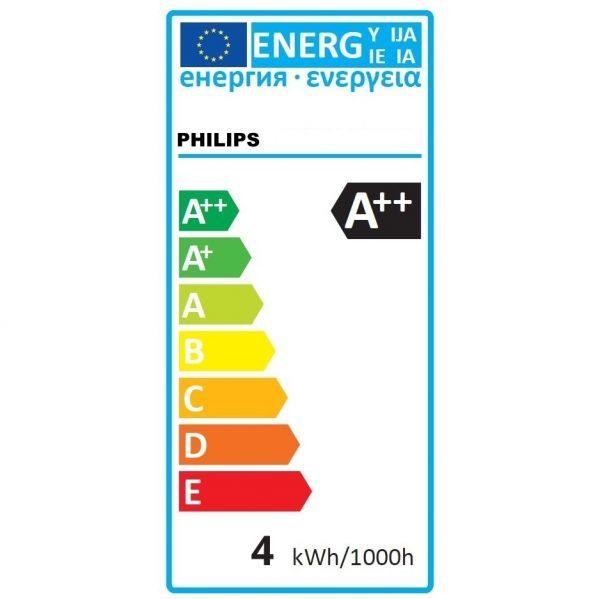 Bombilla LED FILAMENTO E27 | Philips Classic 4W