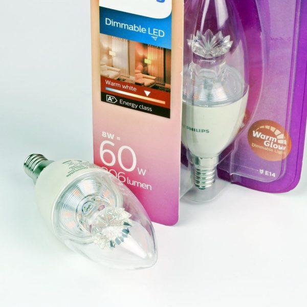 Vela LED Philips Warmglow | 8W regulable