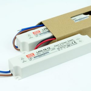 Transformador LED MEANWELL LP 12V DC | 24V DC | IP67
