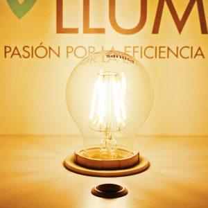 Bombilla LED FILAMENTO E27 | Philips 7.5W