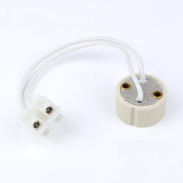 Portalámparas GU10 para dicróicas LED