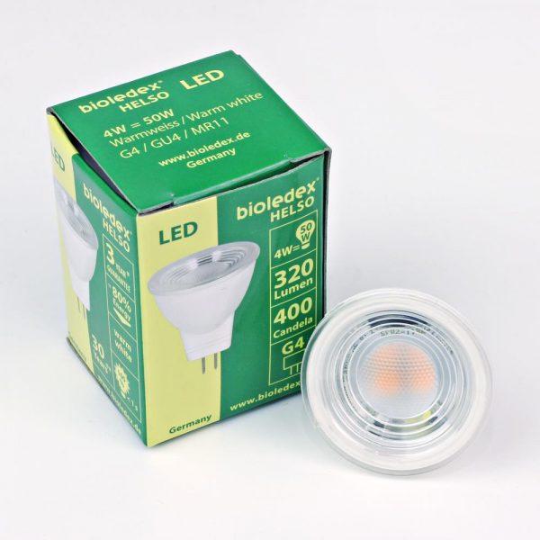 Bombilla LED HELSO 4W | MR11 | GU4
