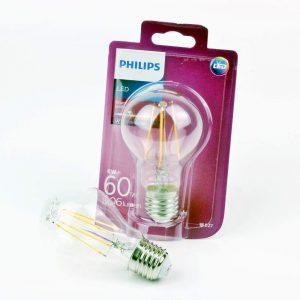 Bombilla LED FILAMENTO E27 | Philips Classic 6W
