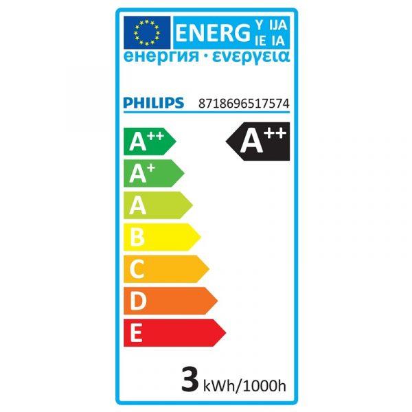 Vela LED FILAMENTO llama E14 | Philips 2.3W