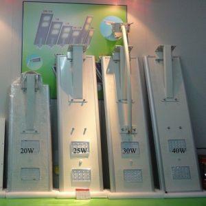 Farola solar LED VIALUZ