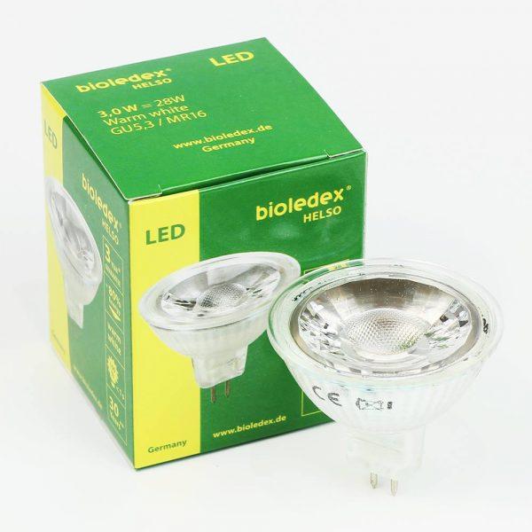 Dicroica LED MR16 CRISTAL | 3W | COB