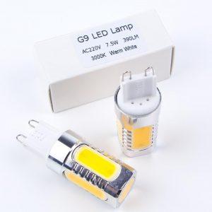 Bombilla LED G9 BEEMAX | 7,5 W | COB