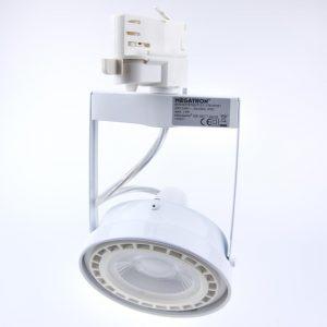 Foco LED carril MEGAMAN TOBY GU10 | ES111
