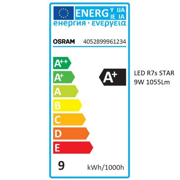 Bombilla LED R7s OSRAM STAR   9W