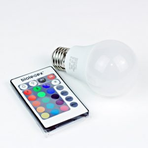 Bombilla LED E27 VEO | 7.5W RGB+W