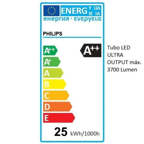 Tubo LED T8 Philips Master Ultra Output