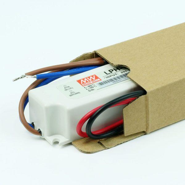 Transformador LED MEANWELL LP 12V DC | 24V DC | IP67
