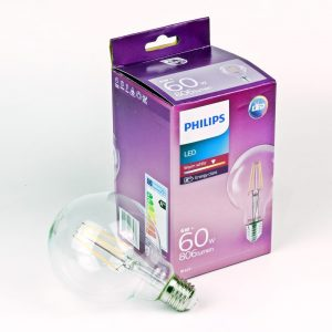 Globo LED Philips filamento G95 | E27 | 6W