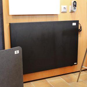 Radiador bajo consumo GEMINI negro 1