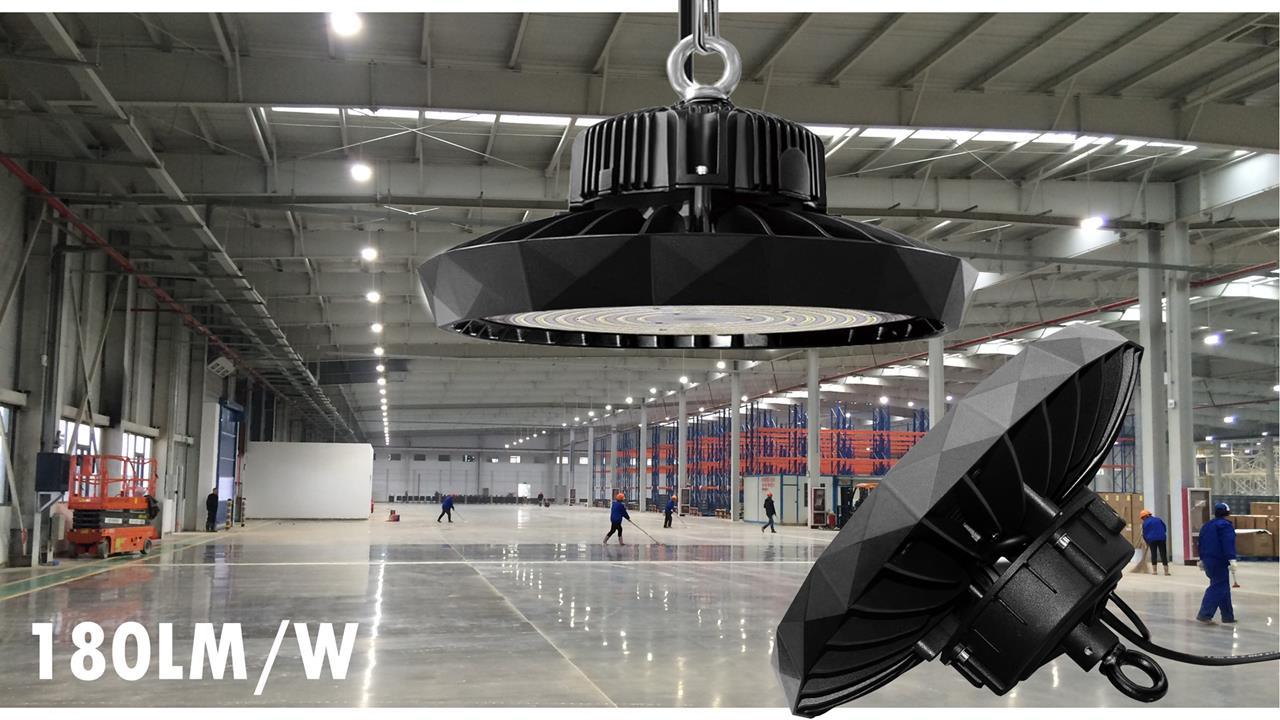 Campana LED PROLED UFO ejemplo