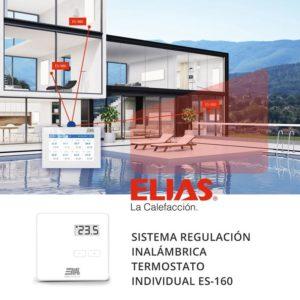 Sistema regulación calefacción ELIAS ES-810 termostato individual