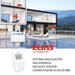 Sistema regulación calefacción ELIAS ES-980 sensor enchufe