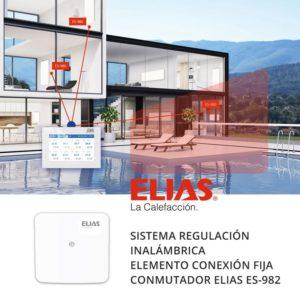 Sistema regulación calefacción ELIAS_ES-982 conmutador fijo