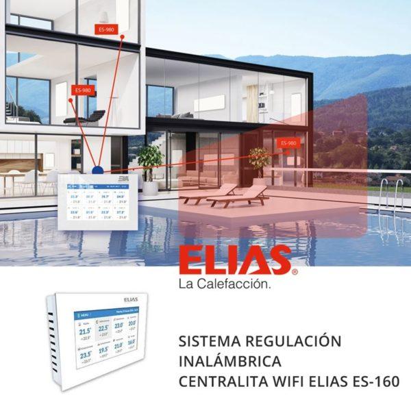 Sistema regulación calefacción ELIAS ES-160 centralita-wifi