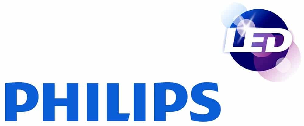 Logo de marca Philips LED